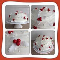 White Holly Cake