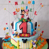 Mickey and friends birthday