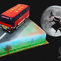 birthday cake for bus driver