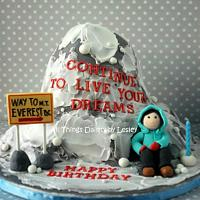 Mount Everest Birthday Cake
