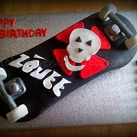 Skateboard Cake by Debbie Vaughan