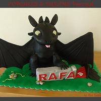 HOW TO TRAIN YOUR DRAGON - NIGHT FURY