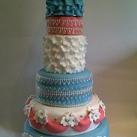 fairytale 21st birthday cake
