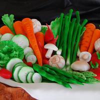 Vegetable Basket by Courtney Healan