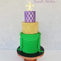 mardi gras carnival cakers
