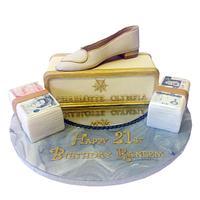 Charlotte Olympia Shoe Cake