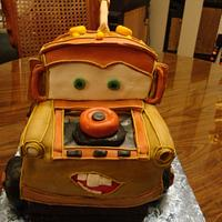 Mater from Cars  Enchanted cakes on FB