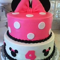 Minnie mouse by Christie's Custom Creations(CCC)