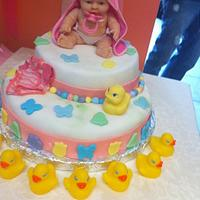 Baby Shower on my second cake by louie