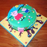 CAKE PEPA PIG for FLAVIUS