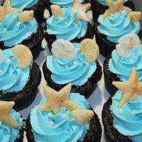 By the Sea Cupcakes