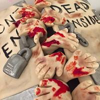 Walking Dead Cake by CakeyBakey Boutique