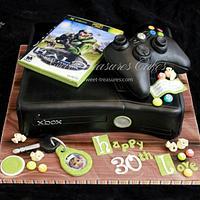 Xbox 360 cake by Sweet Treasures (Ann)