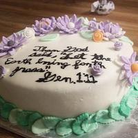 Gen. 1:11 by cakes by khandra
