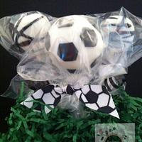 Soccer ball pops