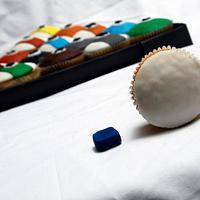 Pool Cupcakes