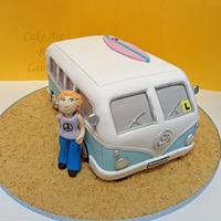 Kombi Van Birthday Cake