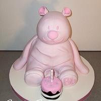 Bear sculpted Cake