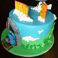 Thomas cake by The cake shop at highland reserve