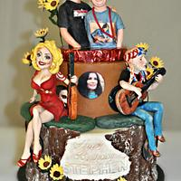Country Music Cake for Stephen