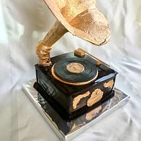 Gramophone Cake