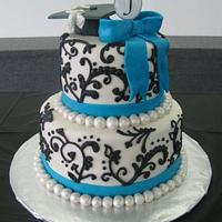 Graduation cake by Stephanie Shaw