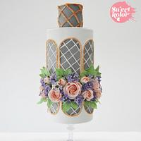 Secret Garden #ACDMagazine wedding cake