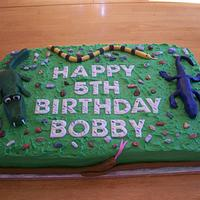 Reptile Cake by Melissa D.
