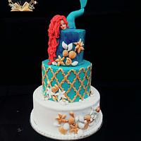 PDCA caker buddies collaboration: children's bed time stories : little mermaid
