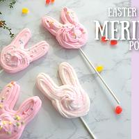 BUNNY MERINGUE POPS!
