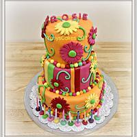 Daises Cake