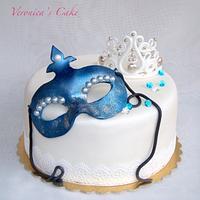 Venice Mask Cake