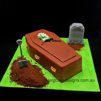 Funeral Parlour Cake