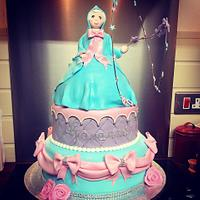 fairy god mother cake