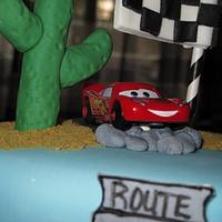 Cars race track by Sharon
