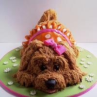 Molly's Puppy Cake