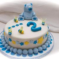 Teddybear cake by Kelly