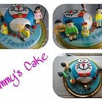 Cake doraemon