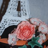 Eiffeltower Cake by Simone Barton