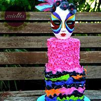 """Masked Beauty "" - Sugar Carnival Collab"
