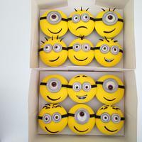 Minion Cupcakes - Minions!