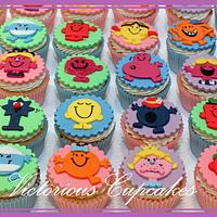 Mr Men and Little Miss Cupcakes