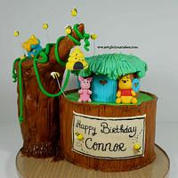 Winnie The Pooh & bees