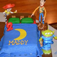 Bed cake by Jamie Dixon