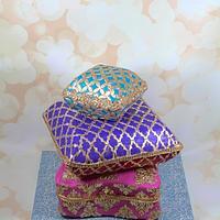 Moroccan  pillow theme