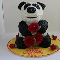 Giant Panda Birthday Cake!