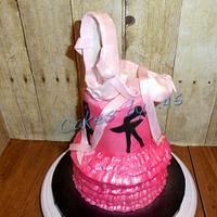 Ballet Recital Cake