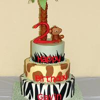 Jungle cake