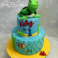 1st Birthday Turtle