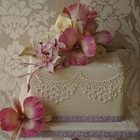 A surpise birthday cake by Julie